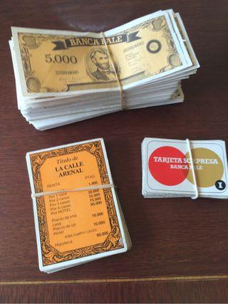 Billetes y cartas EL PALÉ