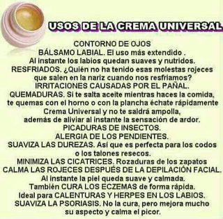 Crema universal