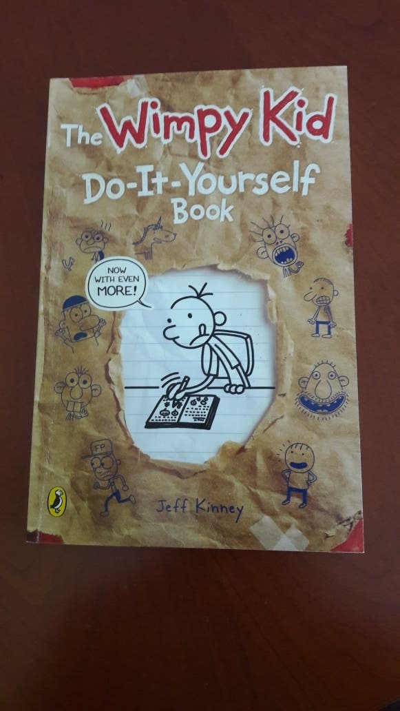 The wimpy kid do it yourself book de segunda mano por 9 en the wimpy kid do it yourself book solutioingenieria Images