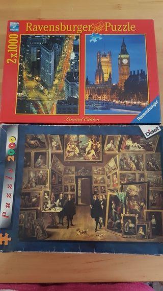 Puzzles 2000 piezas