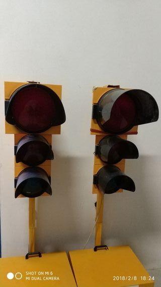 semaforos de obra