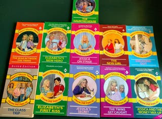 libros Sweet Valley Twins