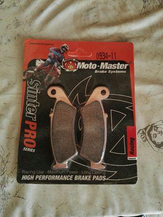 Pastillas de freno Motomaster