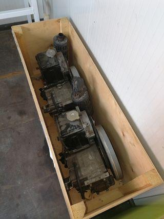 motor rodillo apisonador