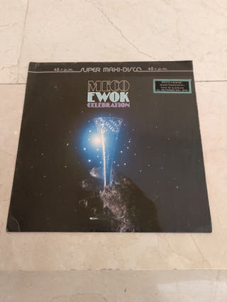 Disco vinilo (Meco Ewok Celebration)