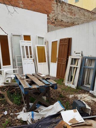 Puertas de paso antiguas sin restaurar de segunda mano por for Puertas de paso segunda mano