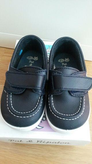 Zapatos nauticos niño num.21