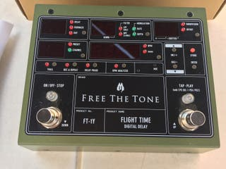 "Pedal guitarra Delay boutique ""Free Th Tone FT-1Y"""
