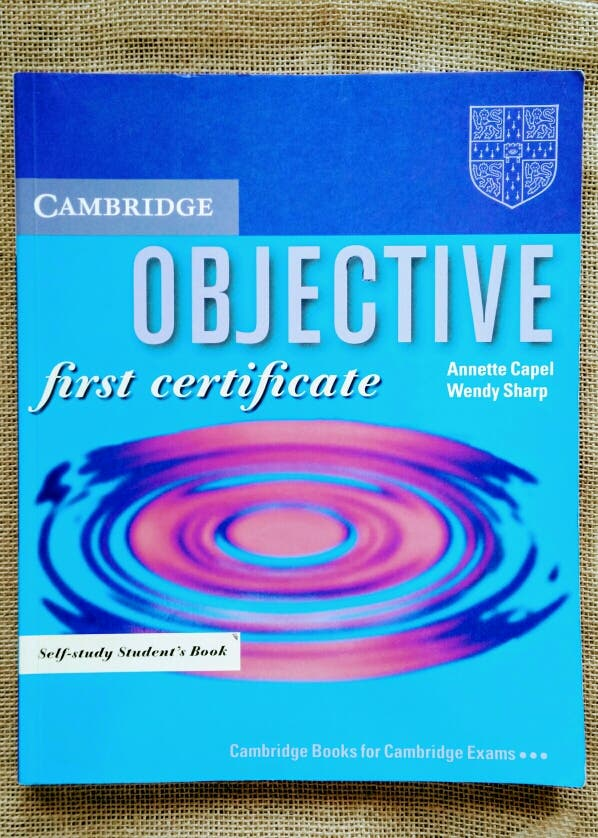 objective first certificate selfstudy students book