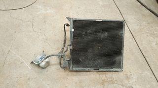bmw e36 conpresor y radiador aire
