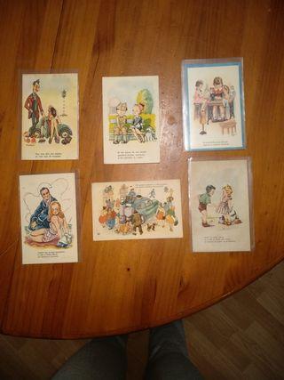 postales años 40-50
