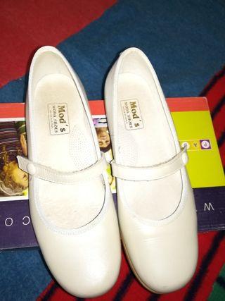 zapatos de comunion de niña