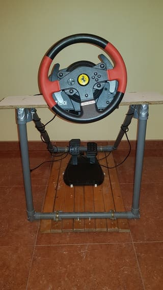 ps4+1 mando+volante ferrari+ 6juegos,wrc6 digital