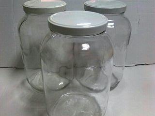 Tarros de cristal 4 litros