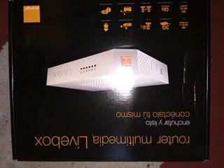 Router livebox orange