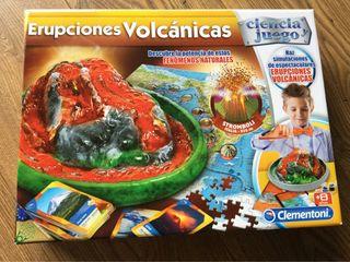 Juego Erupciones Volcanicas