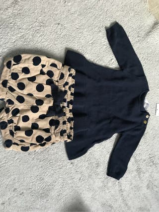Pantalon bombacho (ranita) y jersey