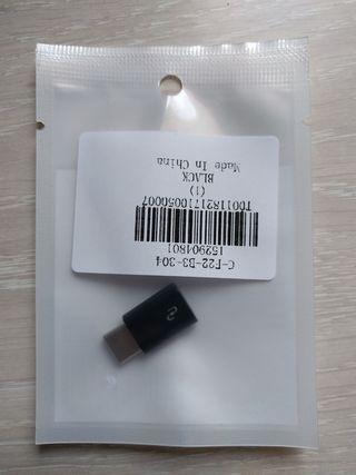 Adaptador micro USB a USB Type-C