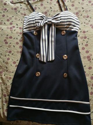 vestido marinero chica