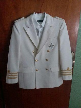 traje de comunión talla 12