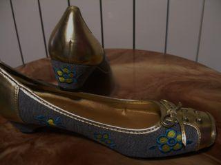 zapatos tipo merceditas con tacon, mujer 41 nuevo