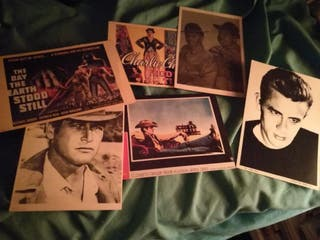 Postales de cine. Adquiridas principios de los 90