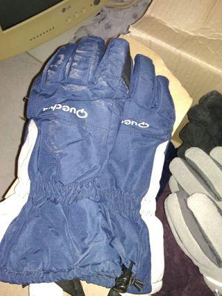 guantes de nieve casi sin uso cada par por...