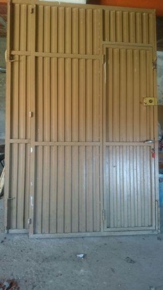 Puertas de cochera,