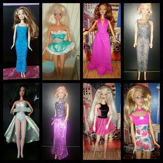 vestidos de Barbie desde 6€