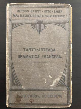 Libro Antiguo Gramática