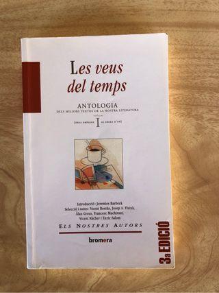 Libro 'Les veus del temps'