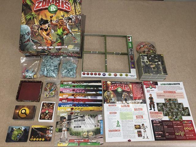 Juego De Mesa Zombies 15 De Segunda Mano Por 30 En Rubi En Wallapop