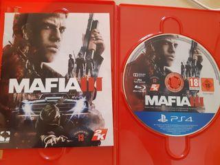 Videojuego mafia 3 para ps4