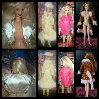 cazadora abrigo chaqueta de Barbie