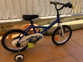 Bicicleta niño 3-7 años