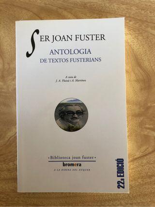 Libro 'Ser Joan Fuster'