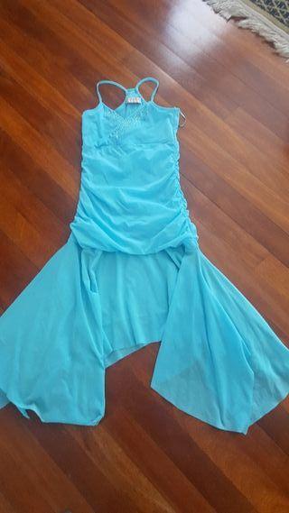 Vestido corto de Alicia Rueda