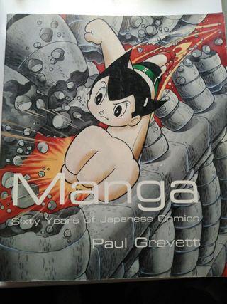 Libro Manga Sixty years Gravett inglés