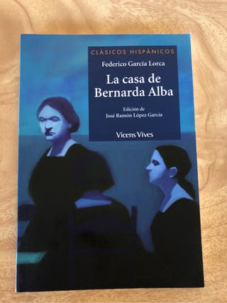 Libro 'La casa de Bernarda Alba'