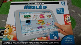 Juguete educa touch aprendo inglés de 4 a 8 años