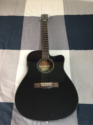 Guitarra electro acústica Fender CD140SCE