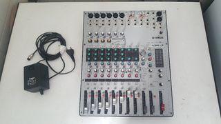 interfaz de audio y micros