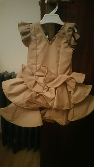 Vestido flamenca talla 2 años nuevo