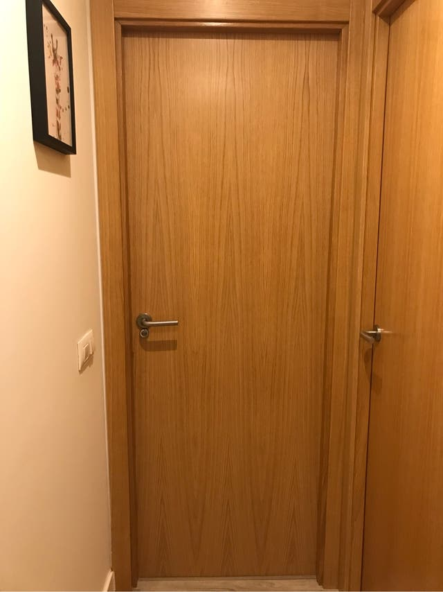 Puerta interior madera Haya