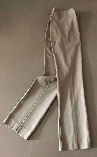 pantalon droit Kaki clair T. 34-36