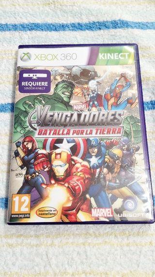xbox 360 kinect Los Vengadores