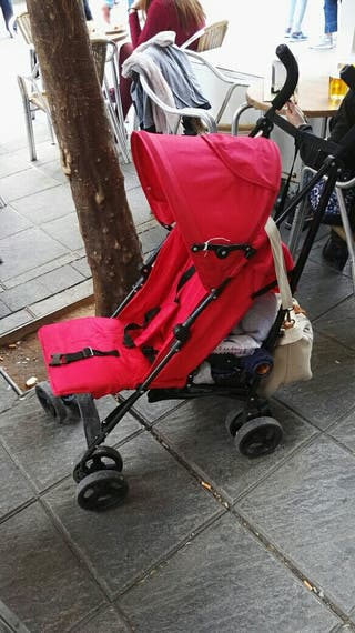 silleta niño color rojo