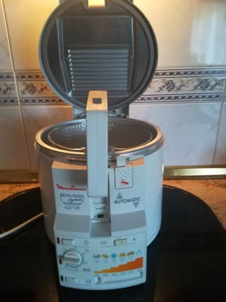 Freidora Moulinex Micro Filter System