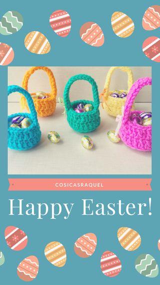 Cestitas de Pascua