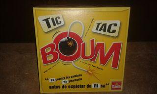 """juego de mesa """" TIC TAC BOOM """""""